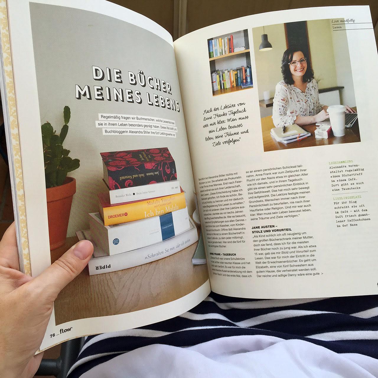 Alexandra Stiller Die Bücher meines Lebens for flow
